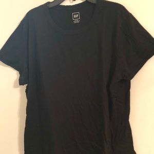 Gap black short sleeve T-shirt XL Tall